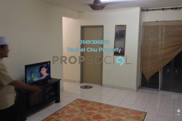 For Sale Apartment at Jati Selatan Apartment, Desa Petaling Leasehold Semi Furnished 3R/2B 290k