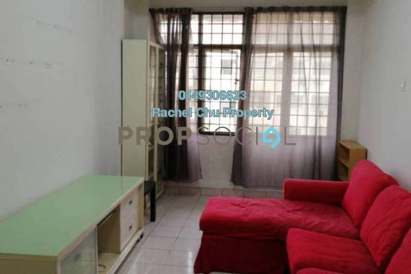 For Sale Apartment at Waja Apartment, Cheras South Freehold Semi Furnished 3R/2B 230k