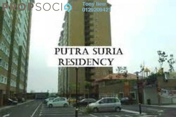 For Rent Apartment at Putra Suria Residence, Bandar Sri Permaisuri Freehold Semi Furnished 3R/2B 1.3k