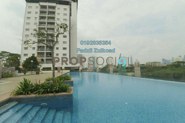 For Sale Condominium at Suria Jelatek Residence, Ampang Hilir Freehold Unfurnished 3R/2B 520k