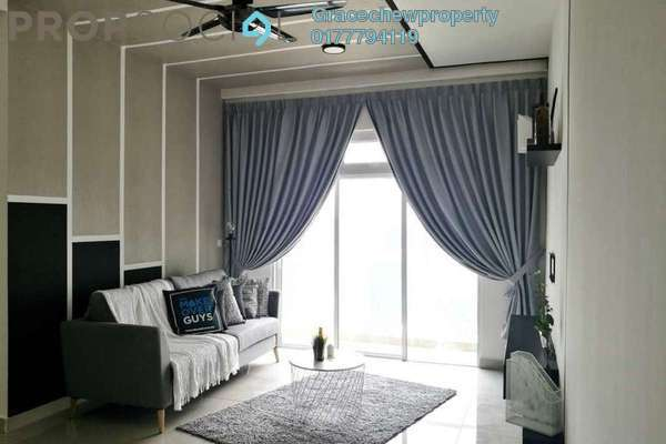 For Rent Condominium at Twin Galaxy, Johor Bahru Freehold Fully Furnished 2R/2B 2.7k