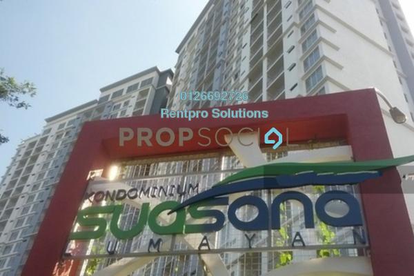 For Rent Condominium at Suasana Lumayan, Bandar Sri Permaisuri Freehold Unfurnished 4R/2B 1.8k