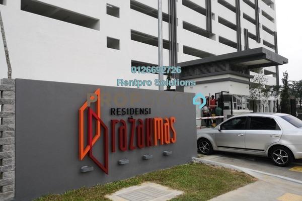 For Rent Apartment at Suasana Lumayan, Bandar Sri Permaisuri Freehold Semi Furnished 3R/2B 1.1k