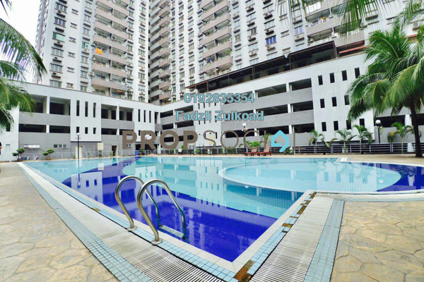 For Sale Condominium at Kinrara Mas, Bukit Jalil Freehold Semi Furnished 3R/2B 399k