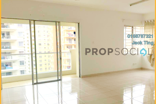 For Rent Condominium at Platinum Hill PV8, Setapak Freehold Semi Furnished 3R/2B 1.8k