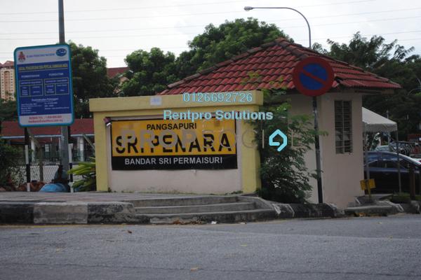 For Rent Apartment at Sri Penara, Bandar Sri Permaisuri Freehold Semi Furnished 3R/1B 1.05k