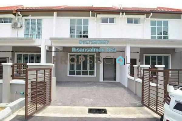 For Sale Terrace at Bandar Puncak Alam, Kuala Selangor Freehold Unfurnished 4R/3B 380k