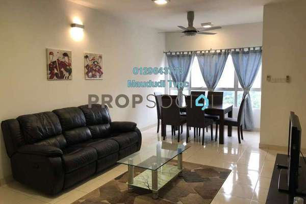 For Rent Apartment at Viva Residency, Sentul Freehold Fully Furnished 2R/2B 1.9k