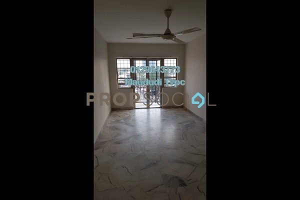For Rent Apartment at Genting Court, Setapak Freehold Unfurnished 3R/2B 1.1k