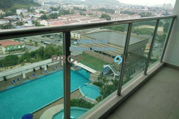 For Rent Serviced Residence at Amerin Mall & Residence, Balakong Freehold Semi Furnished 3R/2B 2k