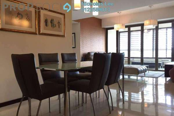 For Sale Serviced Residence at i-Zen Kiara II, Mont Kiara Freehold Fully Furnished 3R/3B 1.05m