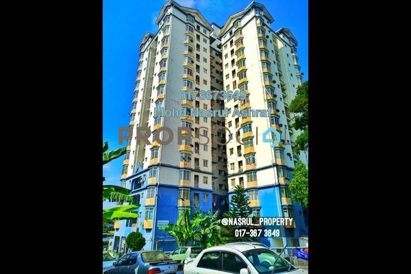 For Sale Apartment at Mawar Sari, Keramat Freehold Semi Furnished 3R/2B 365k