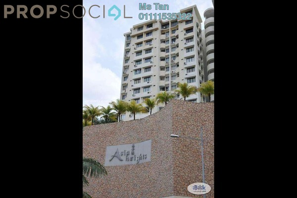 For Rent Condominium at Asia Heights, Farlim Freehold Semi Furnished 2R/2B 750translationmissing:en.pricing.unit