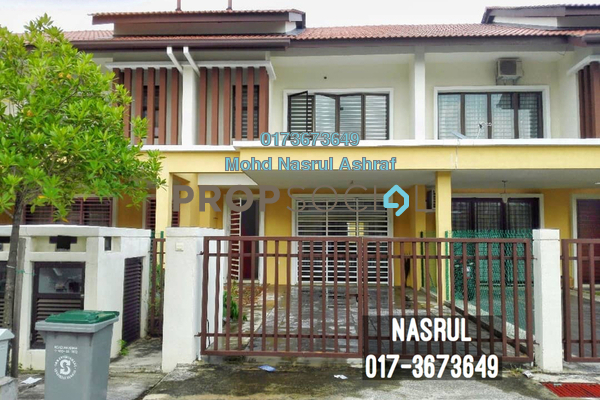 For Sale Terrace at Laman Bakawali, Kota Seriemas Freehold Unfurnished 4R/3B 455k