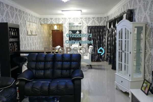 For Rent Condominium at Duta Ria, Dutamas Freehold Fully Furnished 3R/2B 2.5k