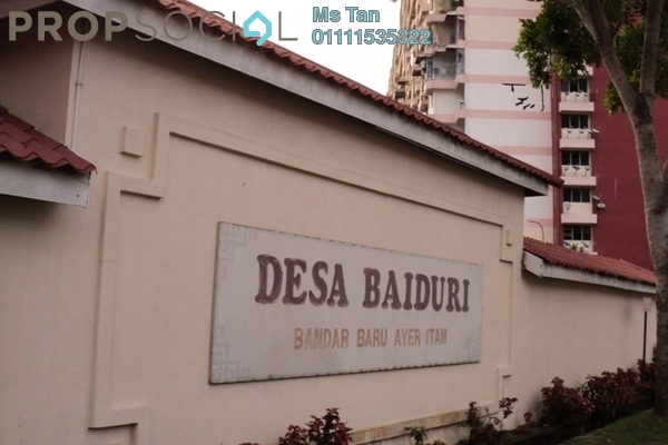 For Rent Condominium at Desa Baiduri, Farlim Freehold Unfurnished 3R/2B 600translationmissing:en.pricing.unit