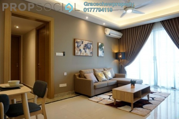 For Rent Serviced Residence at R&F Princess Cove, Johor Bahru Freehold Fully Furnished 3R/3B 3.5k