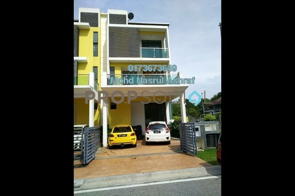 For Sale Superlink at Taman Ukay Tropika, Ukay Freehold Semi Furnished 5R/7B 1.38m