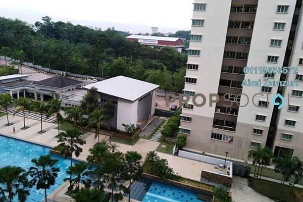 For Rent Condominium at Aman Heights, Seri Kembangan Freehold Unfurnished 4R/2B 1.2k