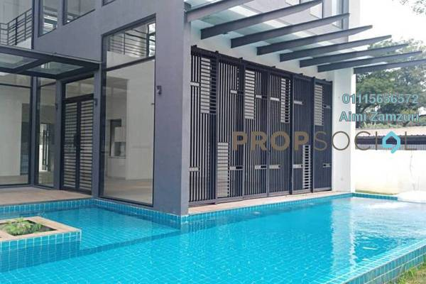 For Sale Bungalow at Ampang Damai, Ampang Freehold Semi Furnished 7R/8B 10m