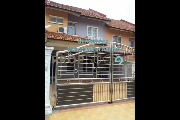 For Rent Terrace at Section 5, Bandar Mahkota Cheras Freehold Semi Furnished 4R/3B 1.5k