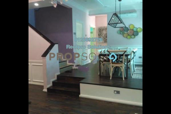 For Rent Terrace at Suria Residence, Bandar Mahkota Cheras Freehold Fully Furnished 5R/3B 3.5k