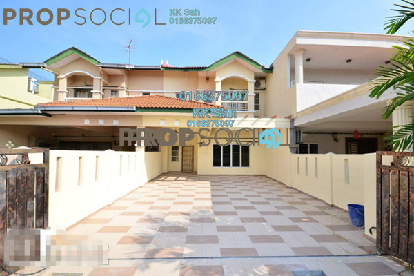 For Sale Link at Bandar Puteri Klang, Klang Freehold Fully Furnished 4R/3B 608k