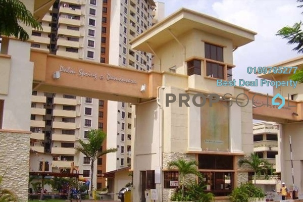 For Sale Condominium at Palm Spring, Kota Damansara Leasehold Unfurnished 3R/2B 415k