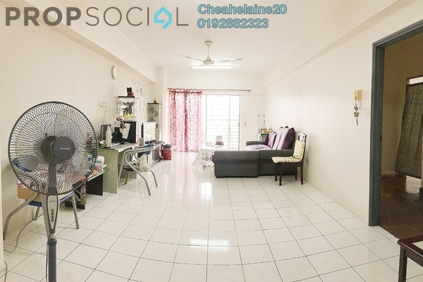 For Sale Condominium at Pandan Villa, Pandan Indah Freehold Semi Furnished 4R/2B 500k