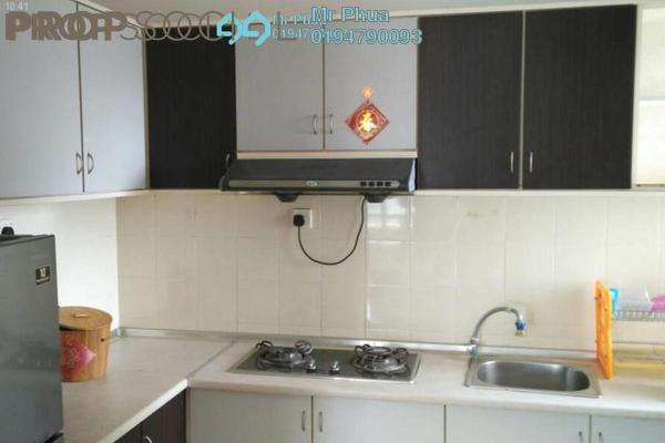For Rent Condominium at Park View Tower, Butterworth Freehold Semi Furnished 3R/2B 1k