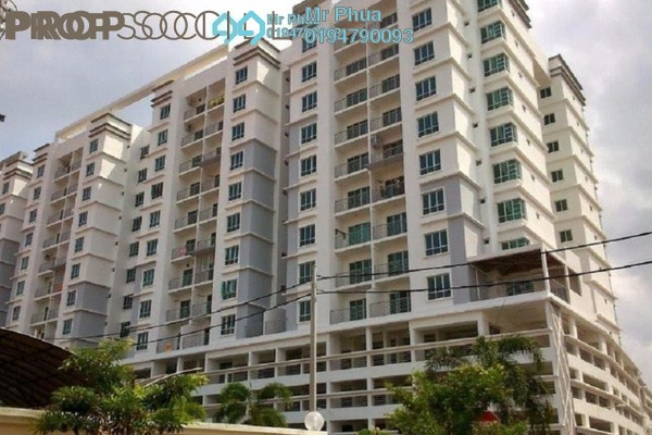 For Sale Condominium at Dahlia Park, Butterworth Freehold Semi Furnished 4R/2B 550k