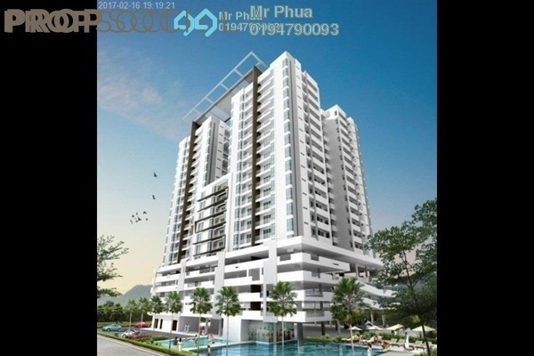 For Sale Condominium at Dahlia Park, Butterworth Freehold Unfurnished 4R/2B 405k