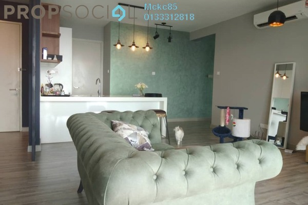 For Sale Condominium at Cristal Residence, Cyberjaya Freehold Fully Furnished 4R/3B 750k