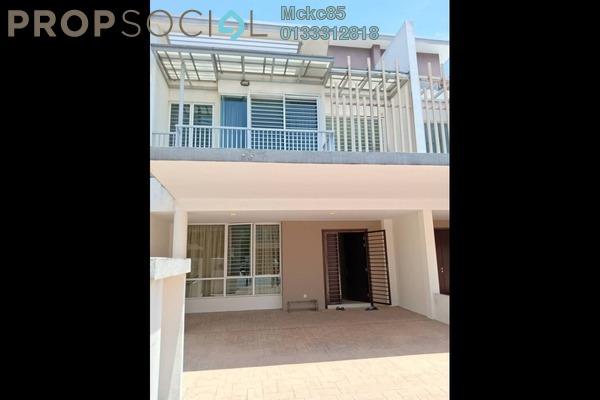 For Sale Superlink at Cassia @ Garden Residence, Cyberjaya Freehold Semi Furnished 4R/4B 850k
