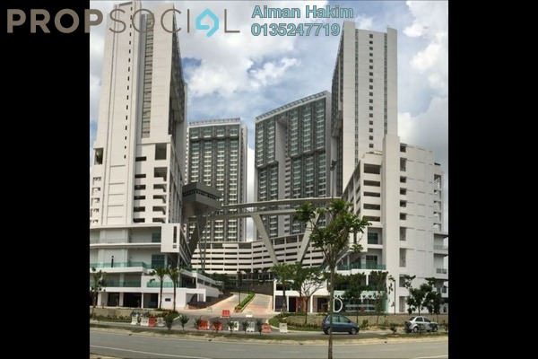 For Rent Serviced Residence at Garden Plaza @ Garden Residence, Cyberjaya Freehold Fully Furnished 3R/2B 1.1k