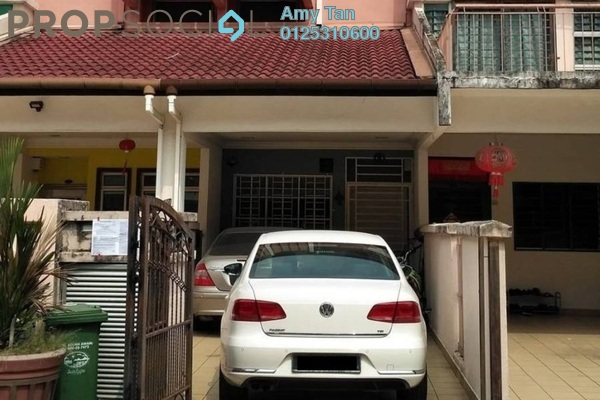 For Sale Townhouse at Taman Wahyu, Jalan Ipoh Freehold Semi Furnished 3R/2B 492k