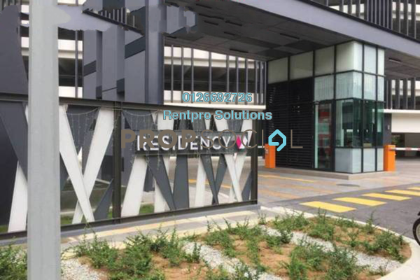 For Rent Condominium at Residency V, Old Klang Road Freehold Fully Furnished 2R/2B 1.8k