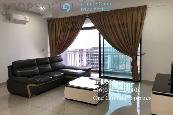 For Rent Serviced Residence at Austin Regency, Tebrau Freehold Fully Furnished 3R/3B 2.1k