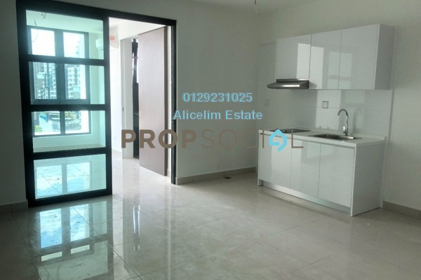 For Rent Condominium at H2O Residences, Ara Damansara Freehold Semi Furnished 1R/1B 1.5k
