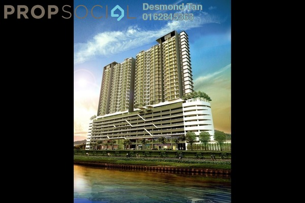 For Sale Condominium at Saville @ D'Lake, Puchong Freehold Unfurnished 0R/1B 374k