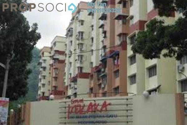 For Rent Condominium at Taman Pekaka, Sungai Dua Freehold Fully Furnished 3R/2B 1.2k