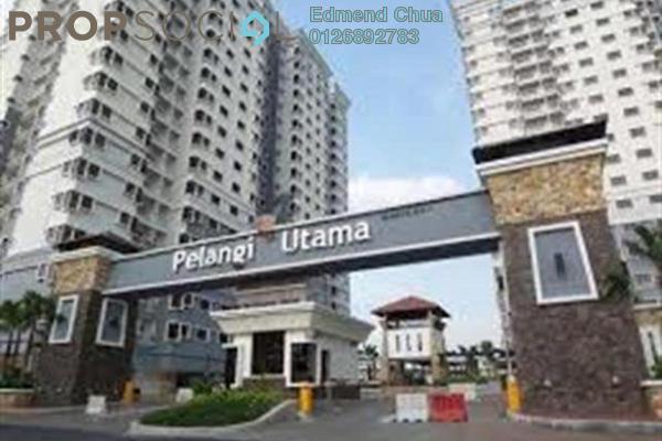For Rent Condominium at Pelangi Utama, Bandar Utama Freehold Fully Furnished 3R/2B 2.2k