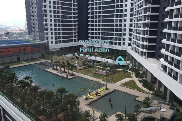 For Sale Condominium at KL Traders Square, Kuala Lumpur Freehold Unfurnished 3R/2B 450k