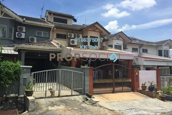 For Sale Superlink at Taman Minang, Cheras South Freehold Semi Furnished 5R/3B 700k