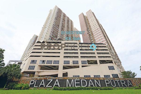 For Rent Serviced Residence at Plaza Medan Putra, Bandar Menjalara Freehold Semi Furnished 4R/2B 1.35k