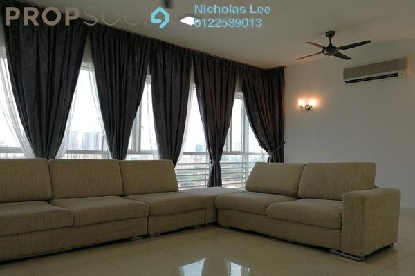 For Rent Serviced Residence at Surian Residences, Mutiara Damansara Freehold Semi Furnished 4R/4B 4.5k