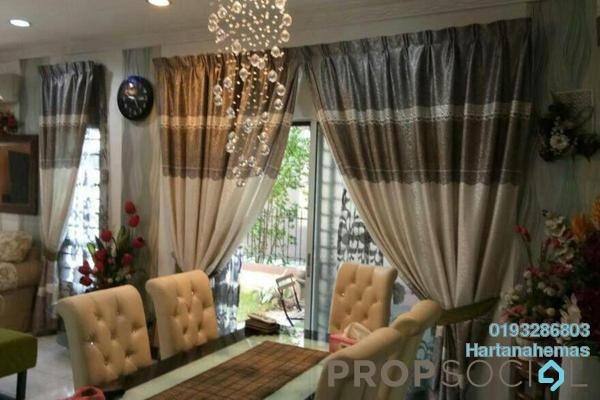 For Sale Semi-Detached at Taman Aman Perdana, Meru Freehold Semi Furnished 4R/3B 750k