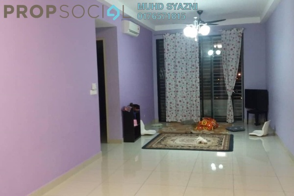 For Sale Condominium at D'Aman Residences, Puchong Freehold Semi Furnished 3R/2B 450k