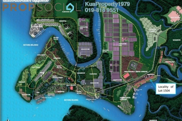 For Sale Land at Tanjung Manis, Belawai Freehold Unfurnished 0R/0B 2m