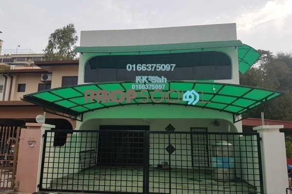 For Sale Terrace at Taman Bukit Mewah, Kajang Freehold Semi Furnished 6R/4B 800k